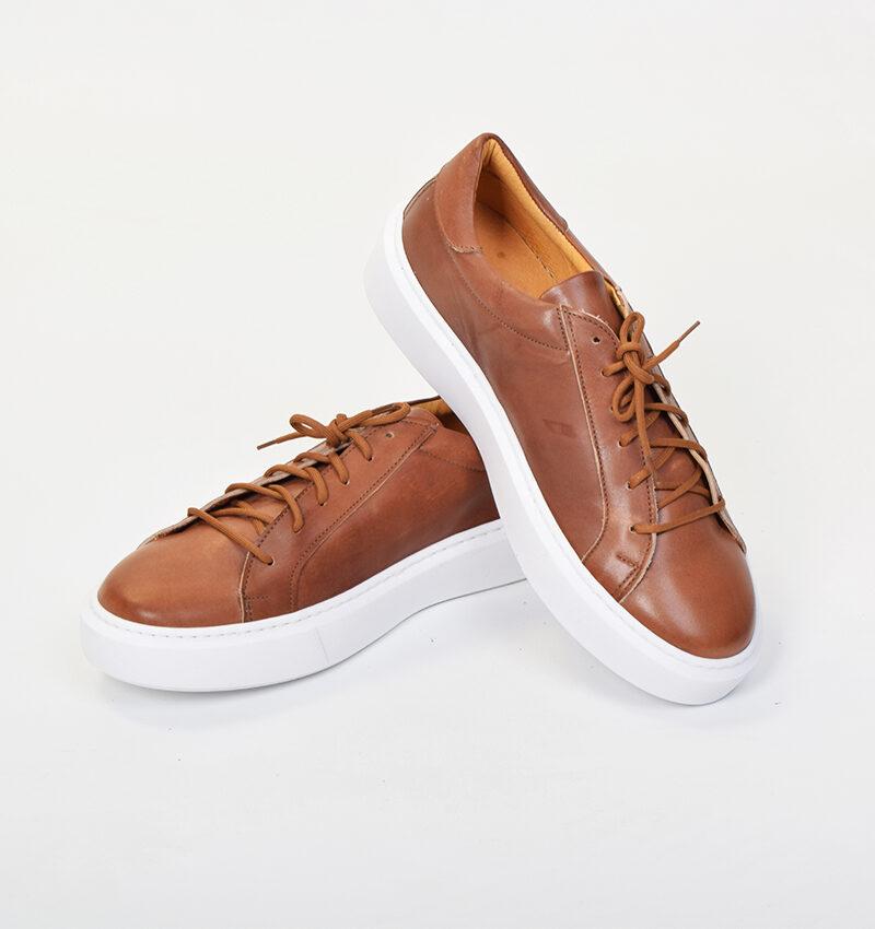 abbigliamento casual uomo - scarpa bassa in pelle cuoio (2).jpg
