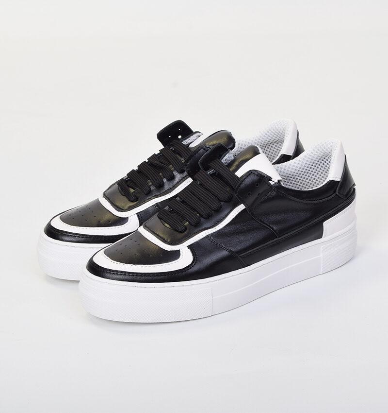 Abbigliamento Uomo Siti (3) - Sneakers NF01 Black.jpg