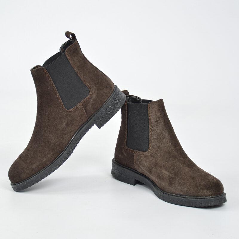 scarpe uomo invernali - stivaletto uomo in camoscio marrone (1).jpg