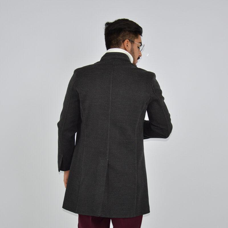abbigliamento online - cappotto uomo strutturato revers grigio scuro (5).jpg