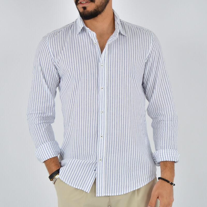 abbigliamento uomo online - camicia uomo collo lino fondo bianco (2).jpg