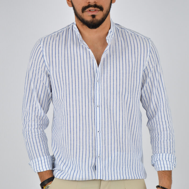 abbigliamento uomo online - camicia uomo coreana lino fondo bianco (5).jpg