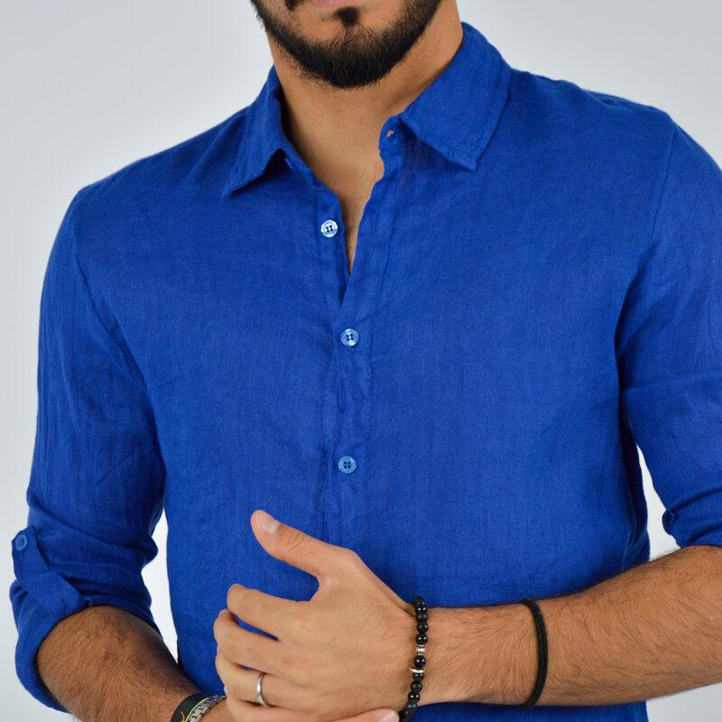 abbigliamento uomo online - camicia uomo manica lunga colletto royal.jpg