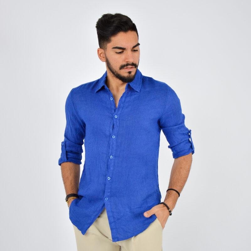 abbigliamento uomo online - camicia uomo manica lunga colletto royal (1).jpg