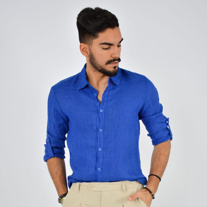 abbigliamento uomo online - camicia uomo manica lunga colletto royal (4).jpg