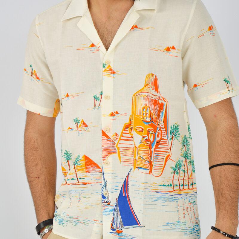 ABBIGLIAMENTO UOMO ONLINE - camicia uomo maniche corte a fantasia (1).jpg