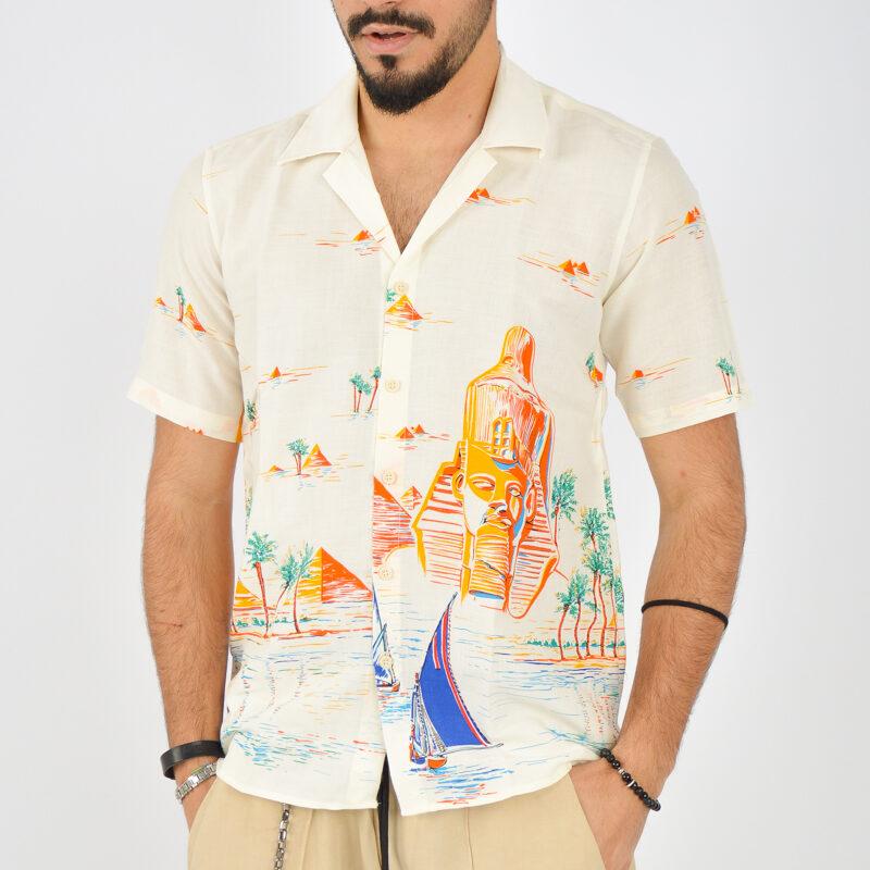 ABBIGLIAMENTO UOMO ONLINE - camicia uomo maniche corte a fantasia (2).jpg
