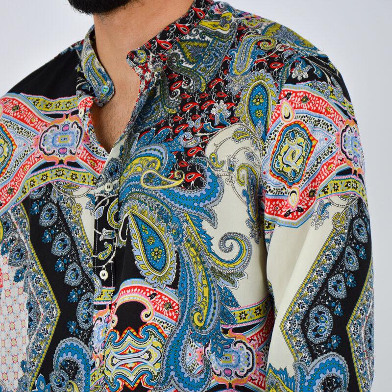 abbigliamento uomo online - camicia uomo leggera fantasia coreana (4).jpg