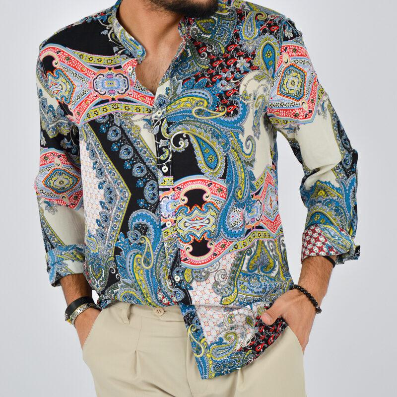 abbigliamento uomo online - camicia uomo leggera fantasia coreana (6).jpg
