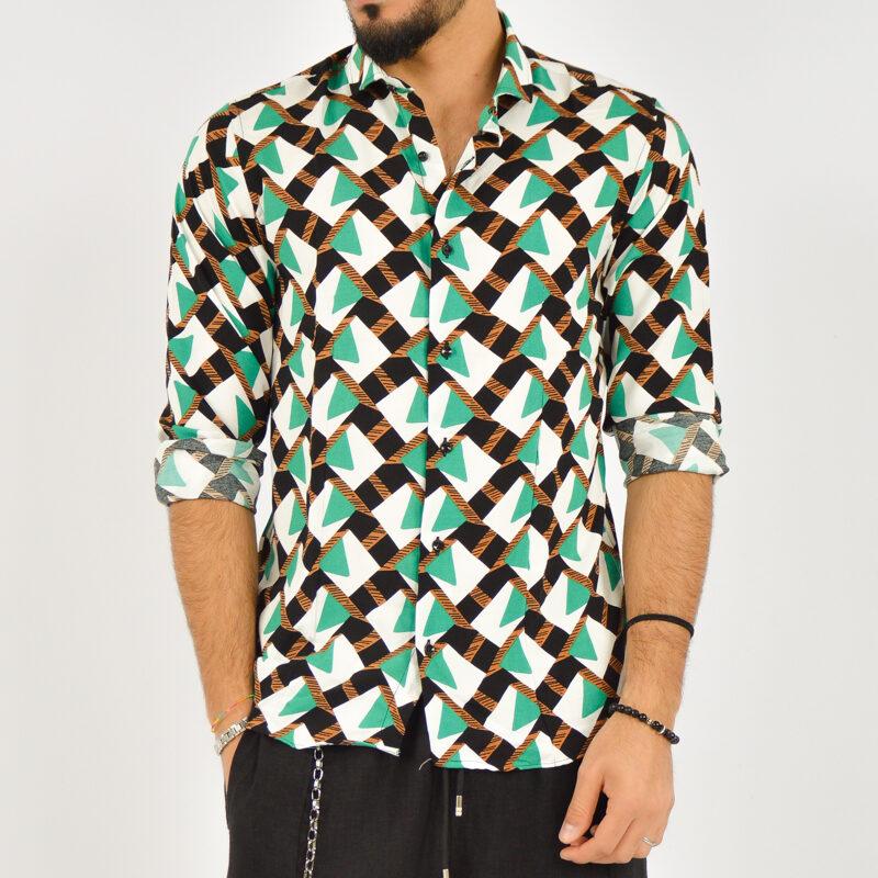 ABBIGLIAMENTO UOMO ONLINE - camicia uomo manica lunga fantasia  (1).jpg