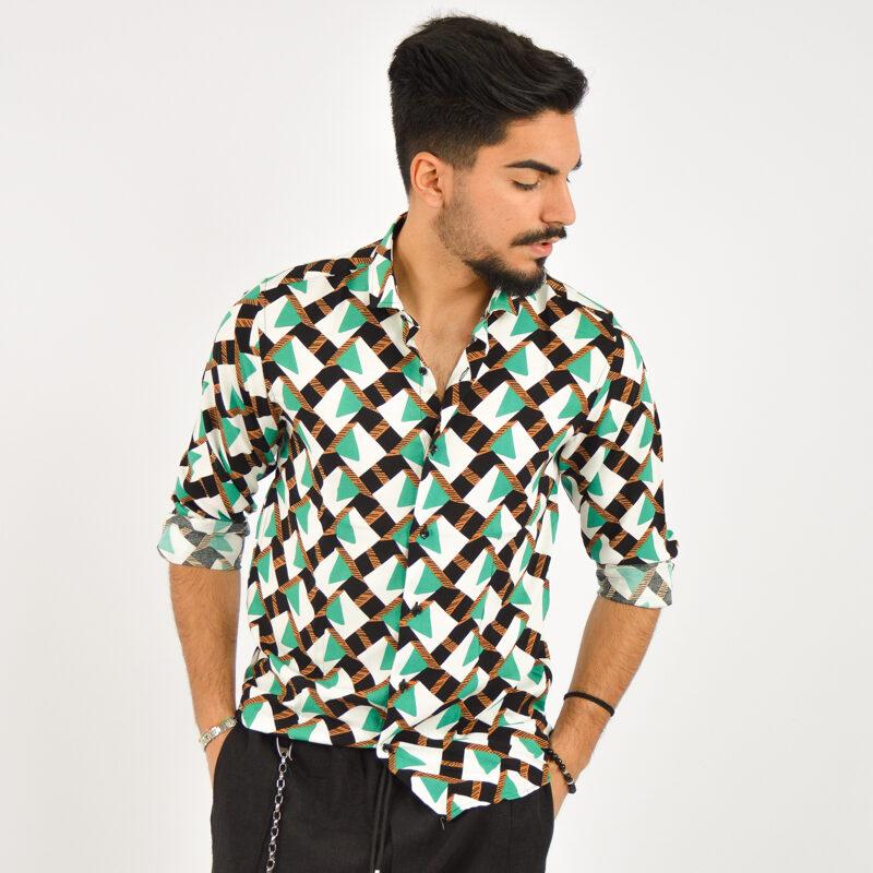 ABBIGLIAMENTO UOMO ONLINE - camicia uomo manica lunga fantasia  (5).jpg
